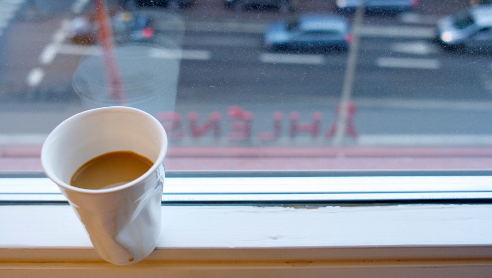 A ordinary Coffe with a view