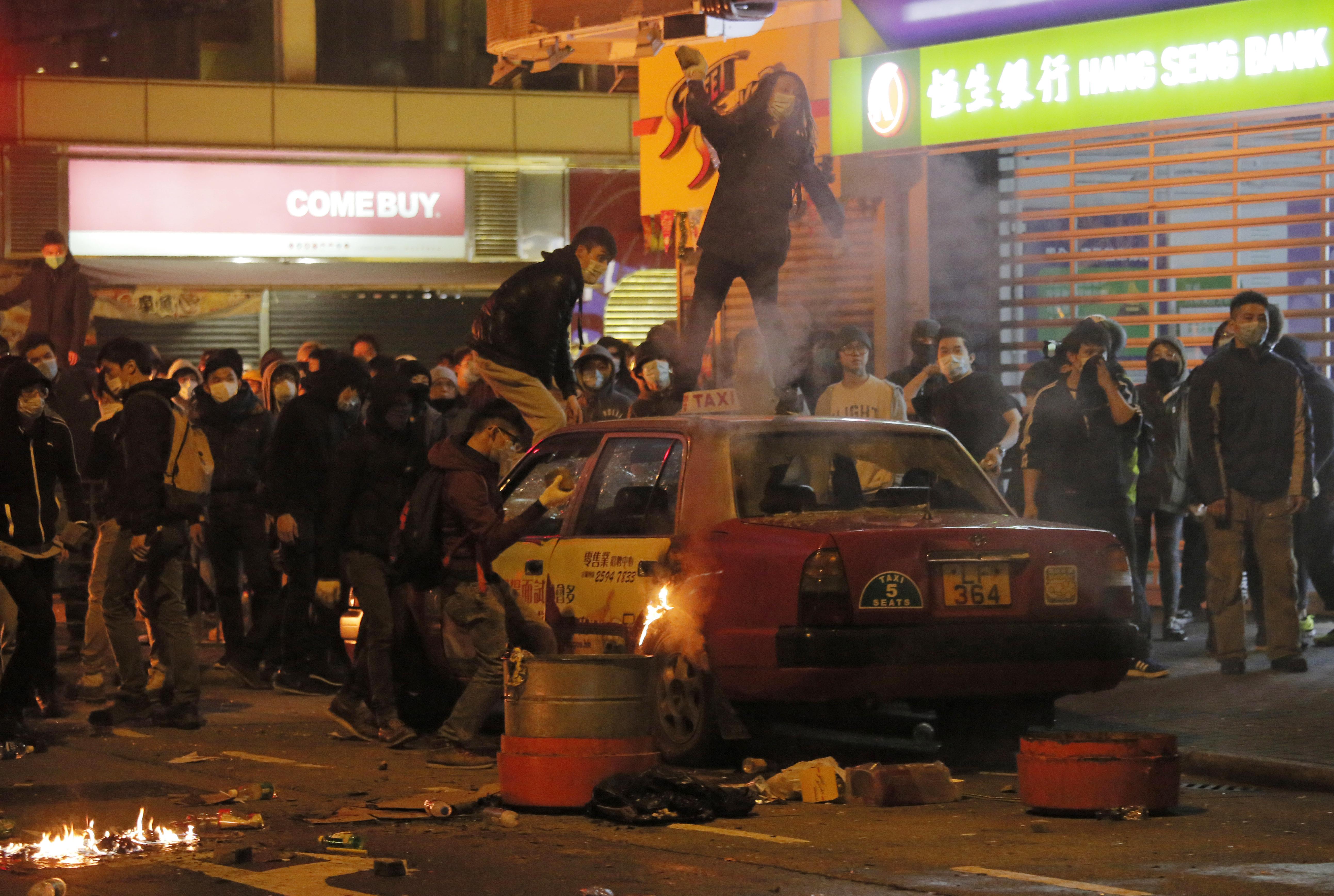 2016 Mong Kok civil unrest