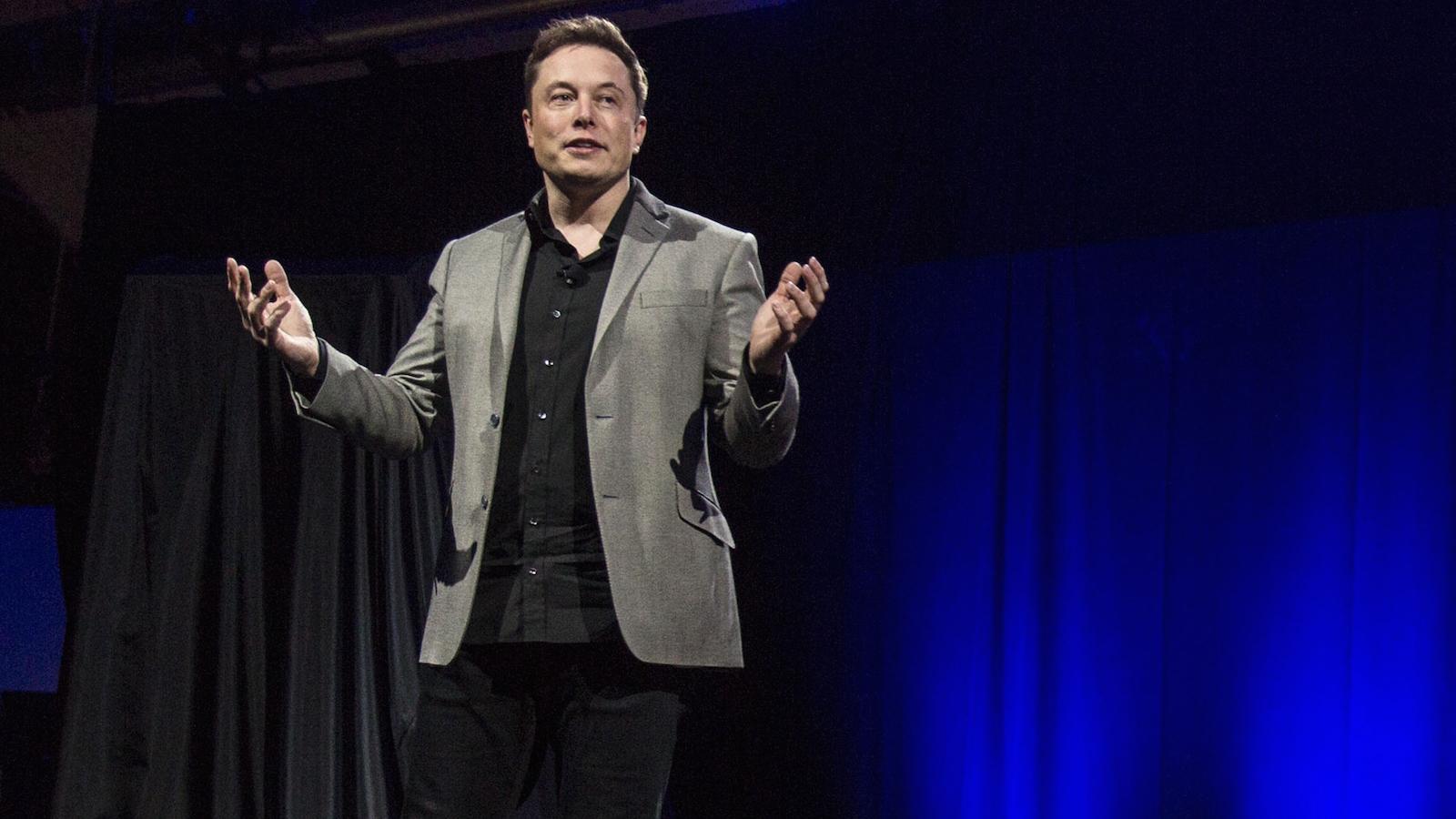 Elon Musk Tesla Electric Plane