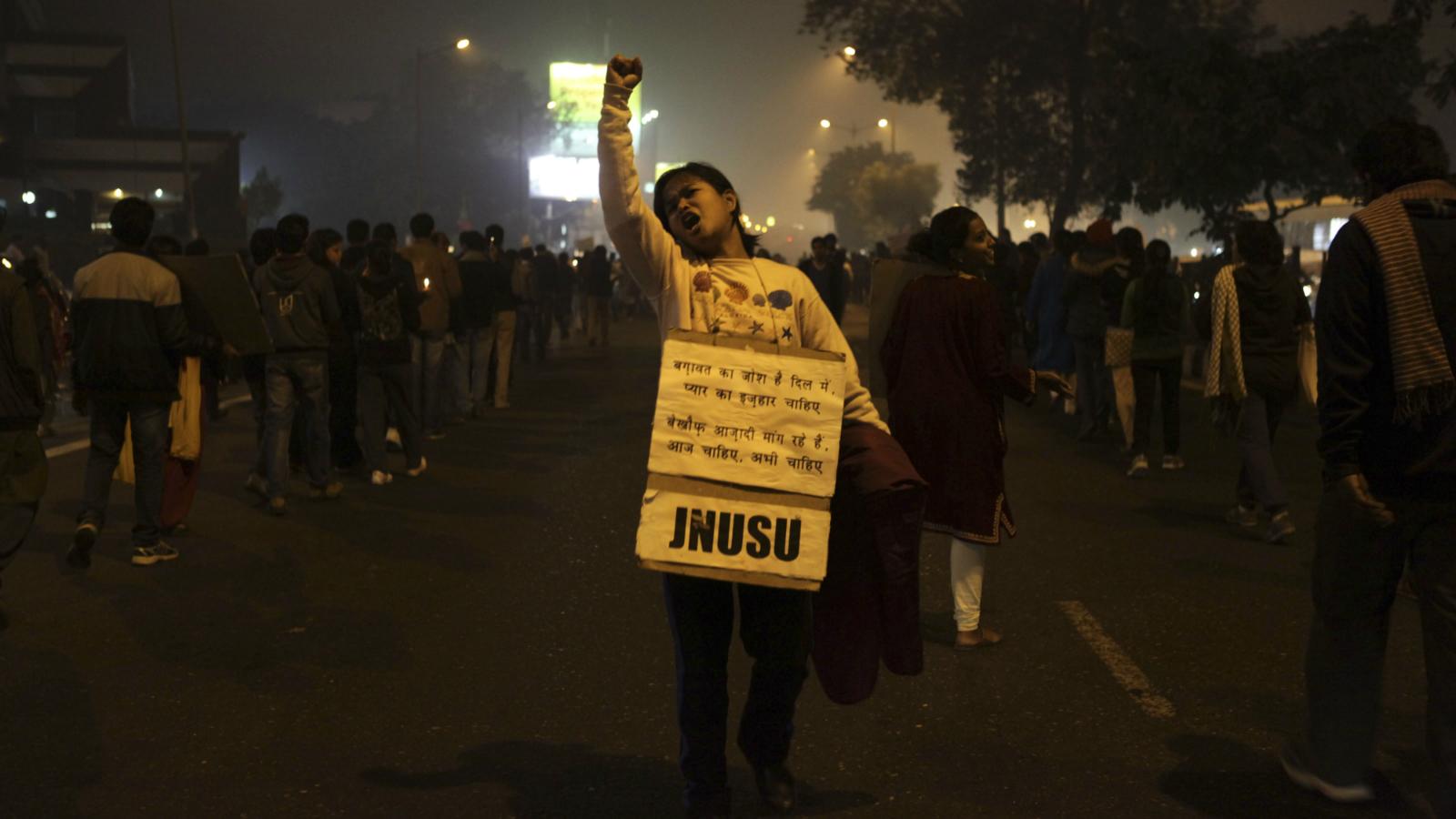 JNU-Afzal Guru-JNU Students union-ABVP-Student protests-Narendra Modi-Jawaharlal Nehru University-AISA-JNUSU