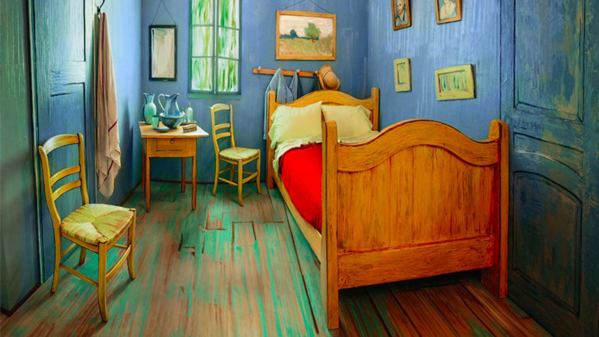 van goghs painting bedroom at arles essay A summary of the arles period (february 1888-april 1889) in 's vincent van  gogh  nearly all of the paintings that have become associated with van gogh  in our  well as his interior masterpieces the bedroom and the night cafe, the  latter.
