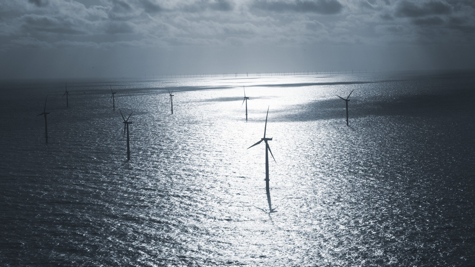 Once one of the largest offshore wind farms.