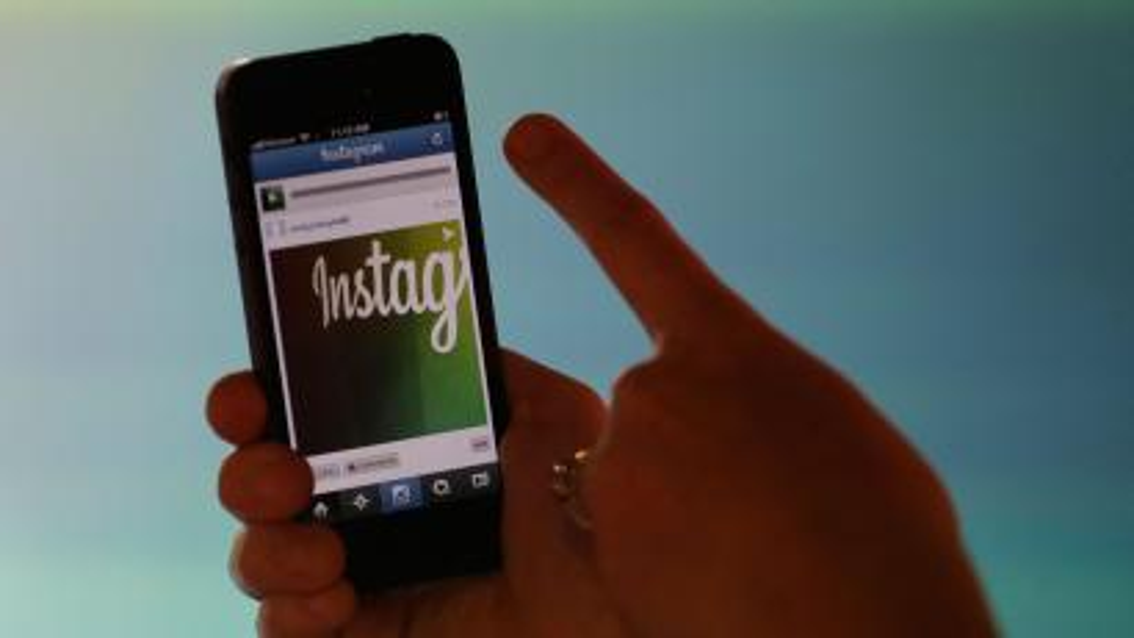 Instagram's new video feature is demonstrated at Facebook headquarters in Menlo Park, Calif., Thursday, June 20, 2013. (AP Photo/Marcio Jose Sanchez)