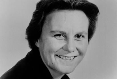 """This March 14, 1963 file photo shows Harper Lee, author of the Pulitzer Prize-winning novel, """"To kill a Mockingbird."""" The head of a group for Alabama writers says the new book by Harper Lee will help other state authors. Alabama Writer's Forum executive director Jeanie Thompson says the attention being given to Lee's long-awaited second novel reflects on other writers in the state."""