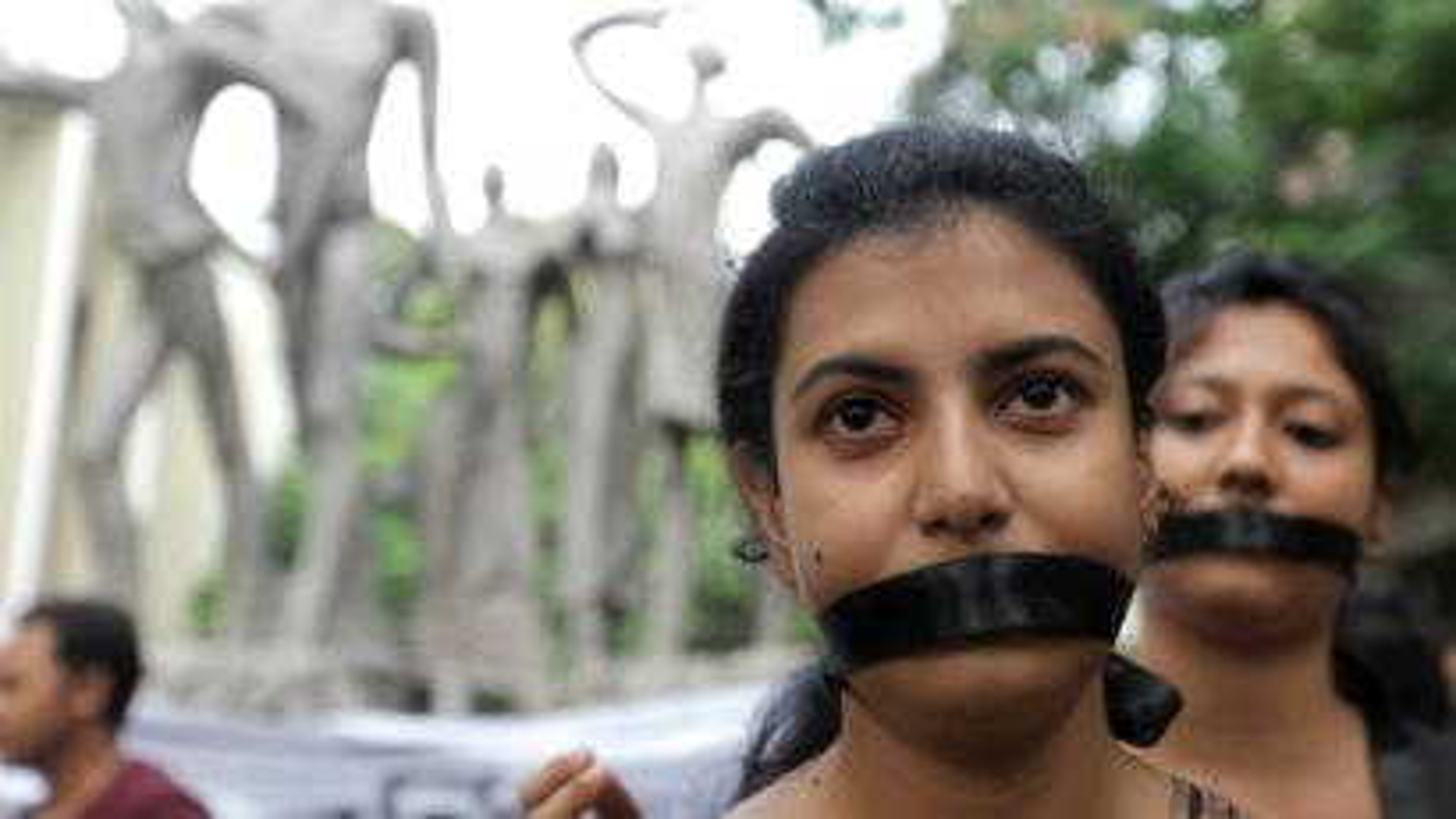 Women-JNU-India-University-Rohit Vemula-Hyderabad-protest march-Kanhaiya