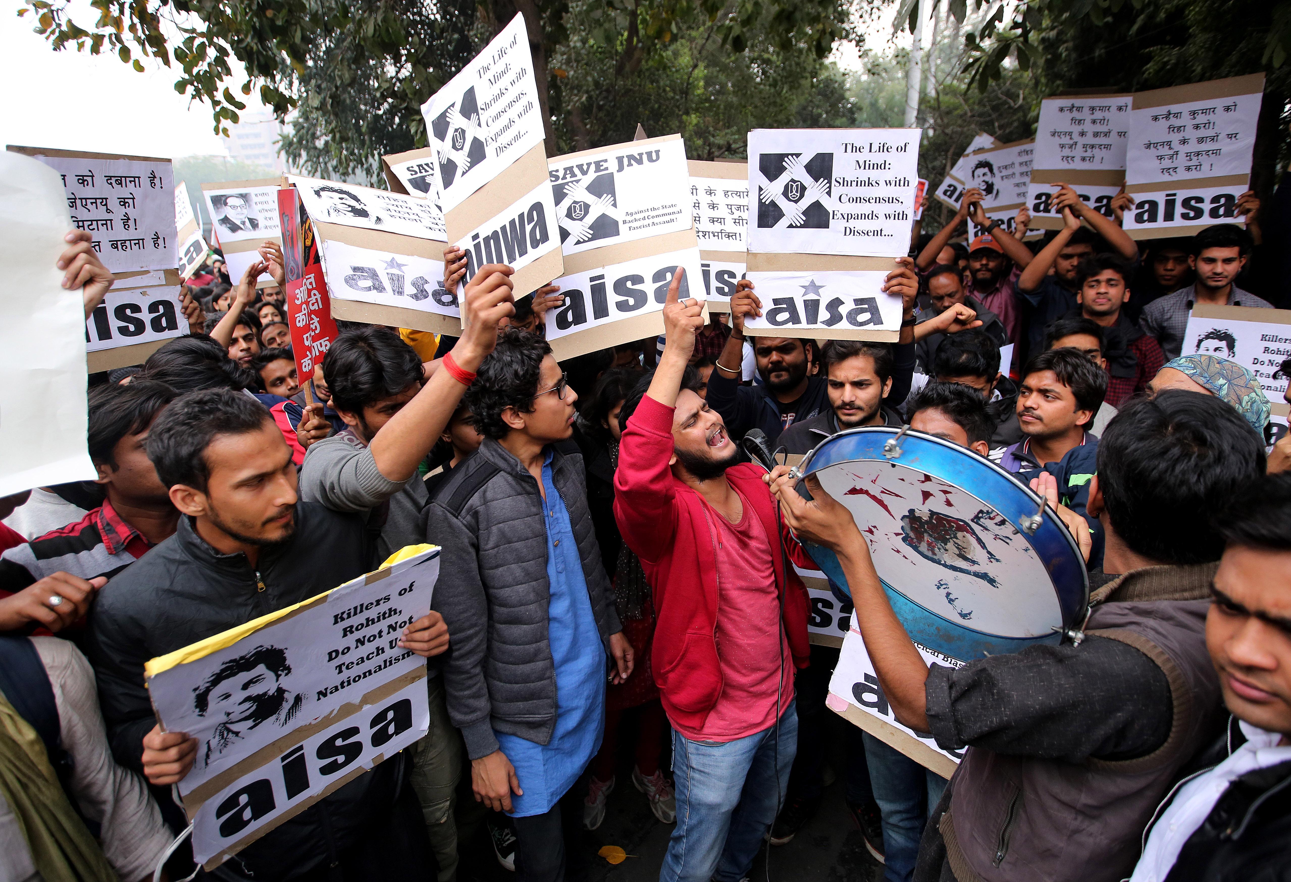 India-JNU-protest