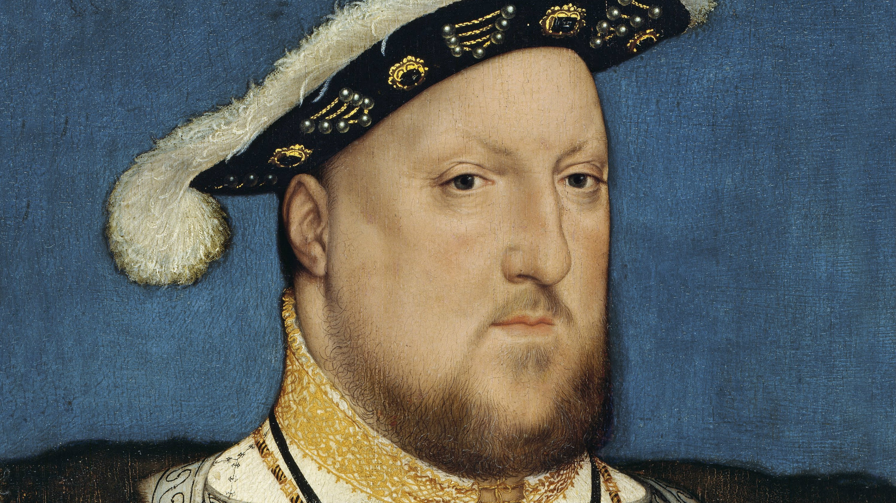 Portrait of Henry VIII of England by Hans Holbein, the Younger