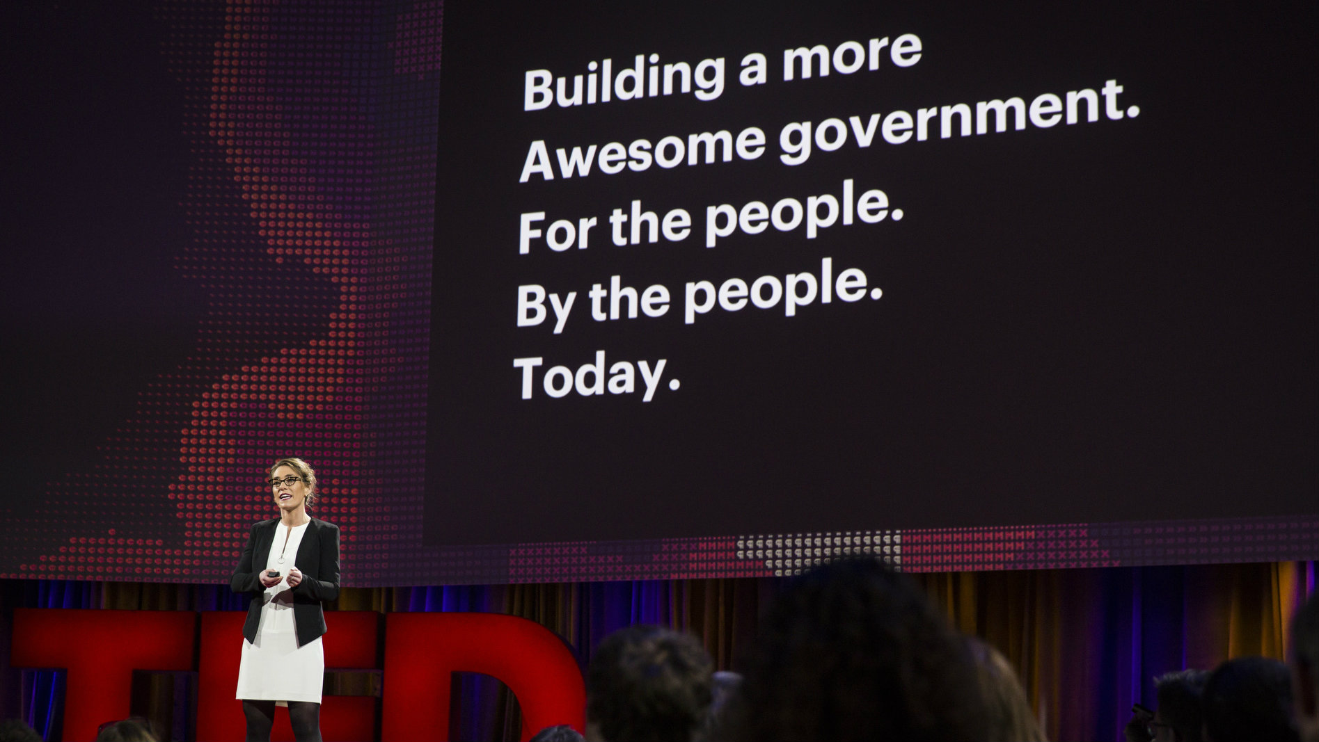 Haley Van Dyck speaks at TED2016 - Dream, February 15-19, 2016, Vancouver Convention Center, Vancouver, Canada.