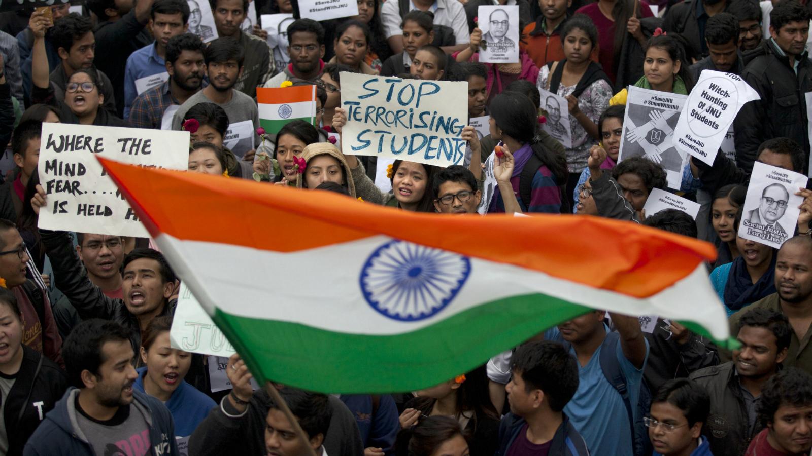 India-protest-JNU