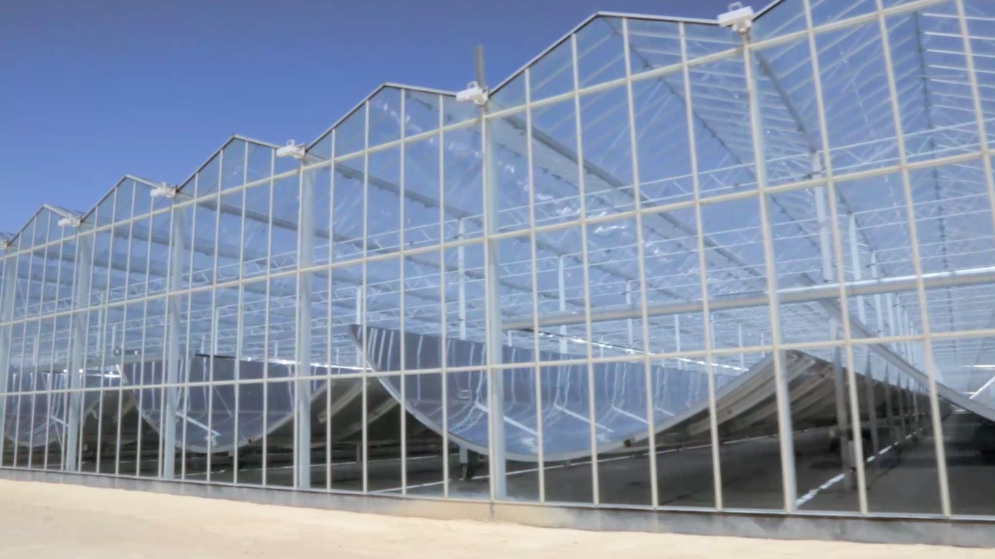 GlassPoint greenhouses