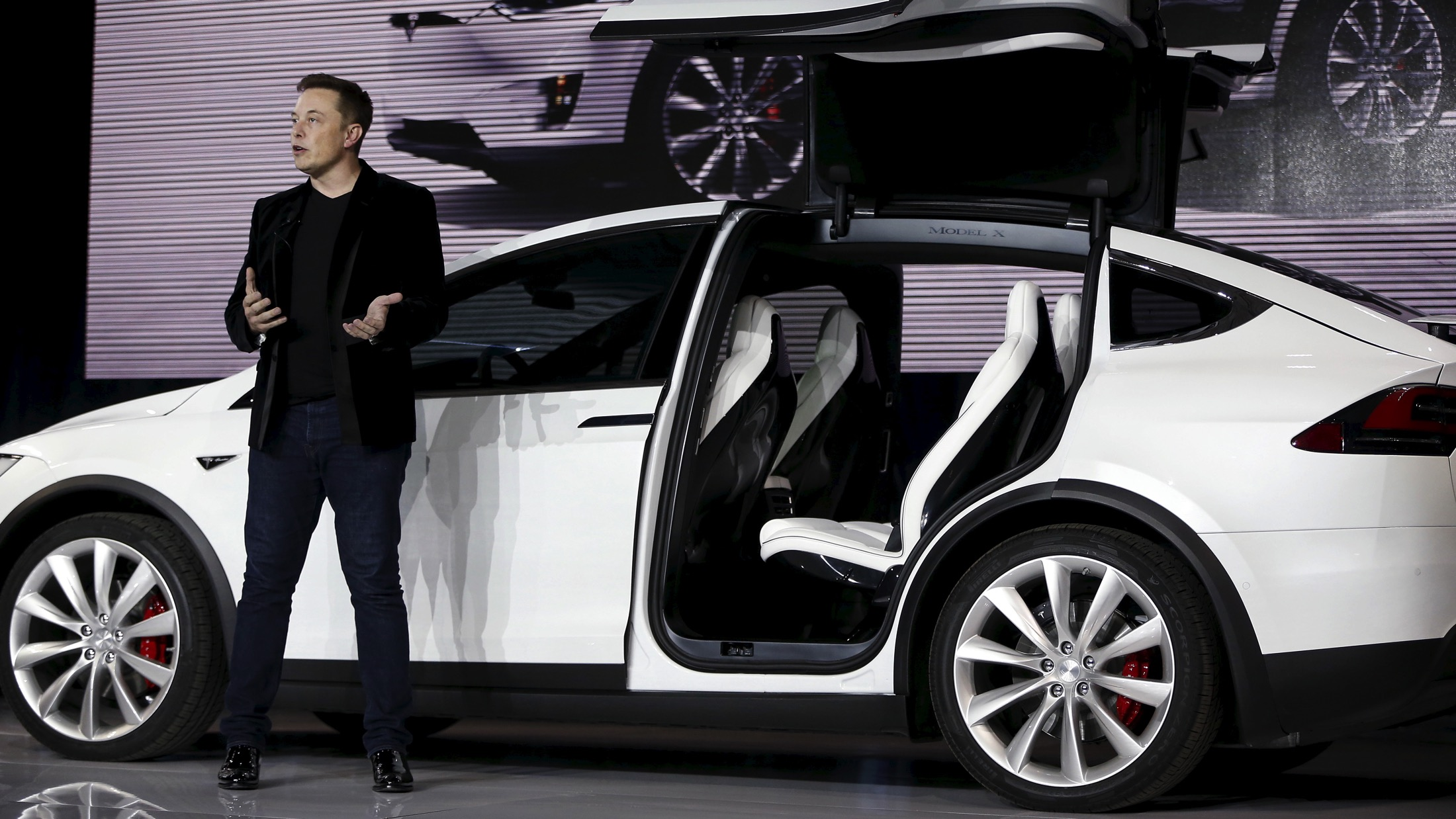 Elon Musk says the Tesla Model X is the best car ever made—unless