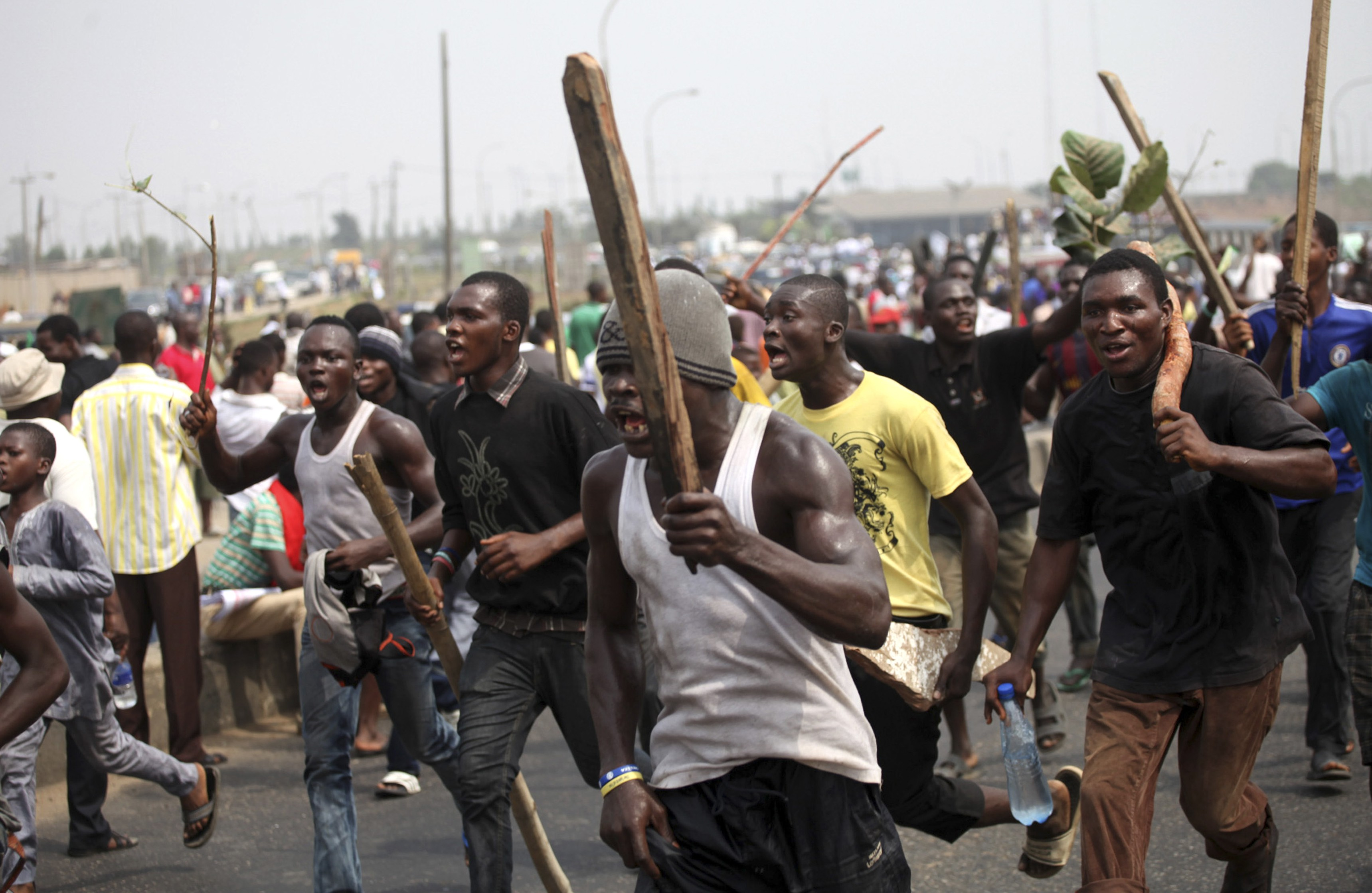 Nigeria hopes IMF loans can help to quell protests.