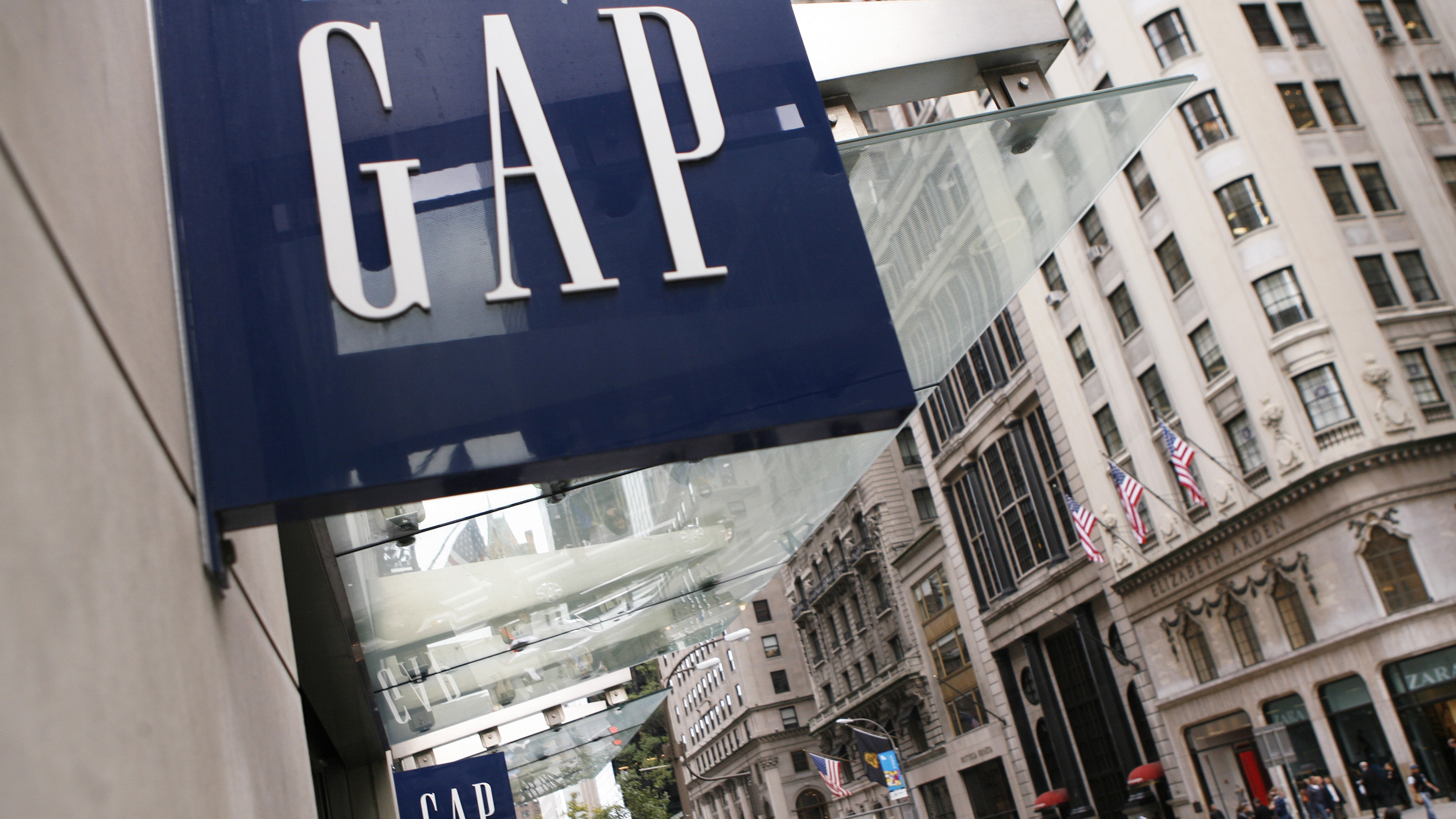 The Gap store is pictured on Fifth Avenue in New York October 8, 2009.