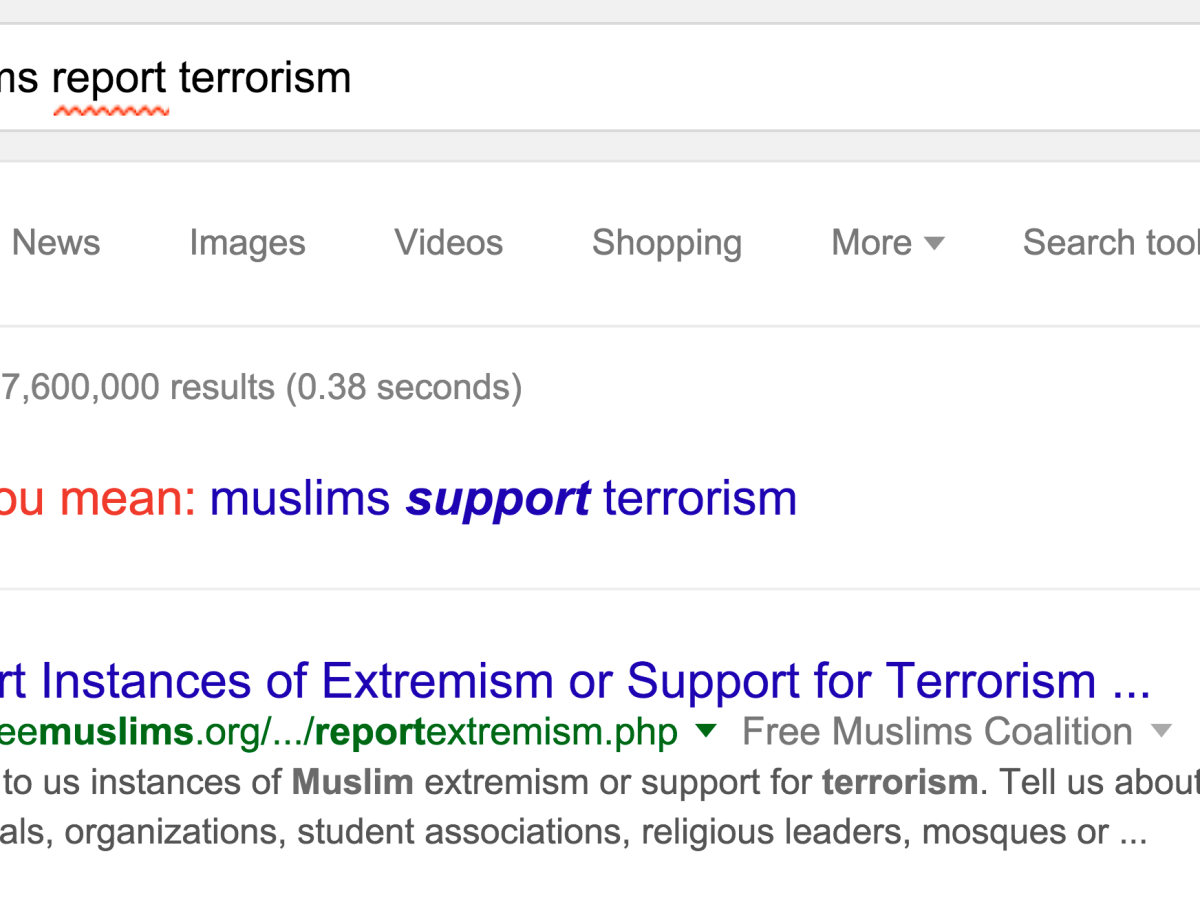Muslim Map Of America 900.Why Google Search Suggests Muslims Support Terrorism Quartz