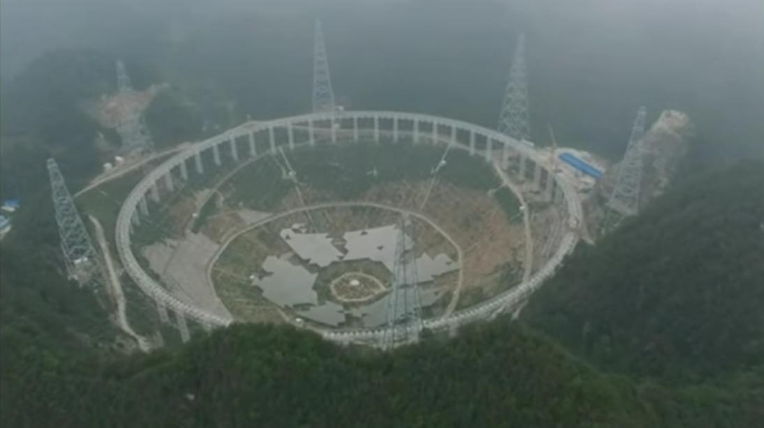 china radio telescope FAST