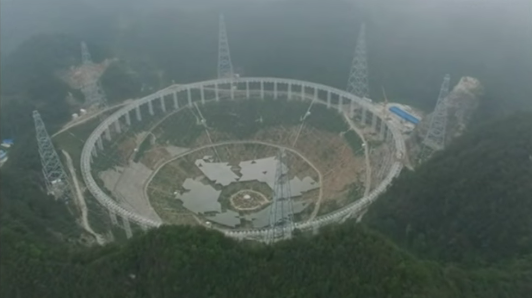 china radio telescope FAST