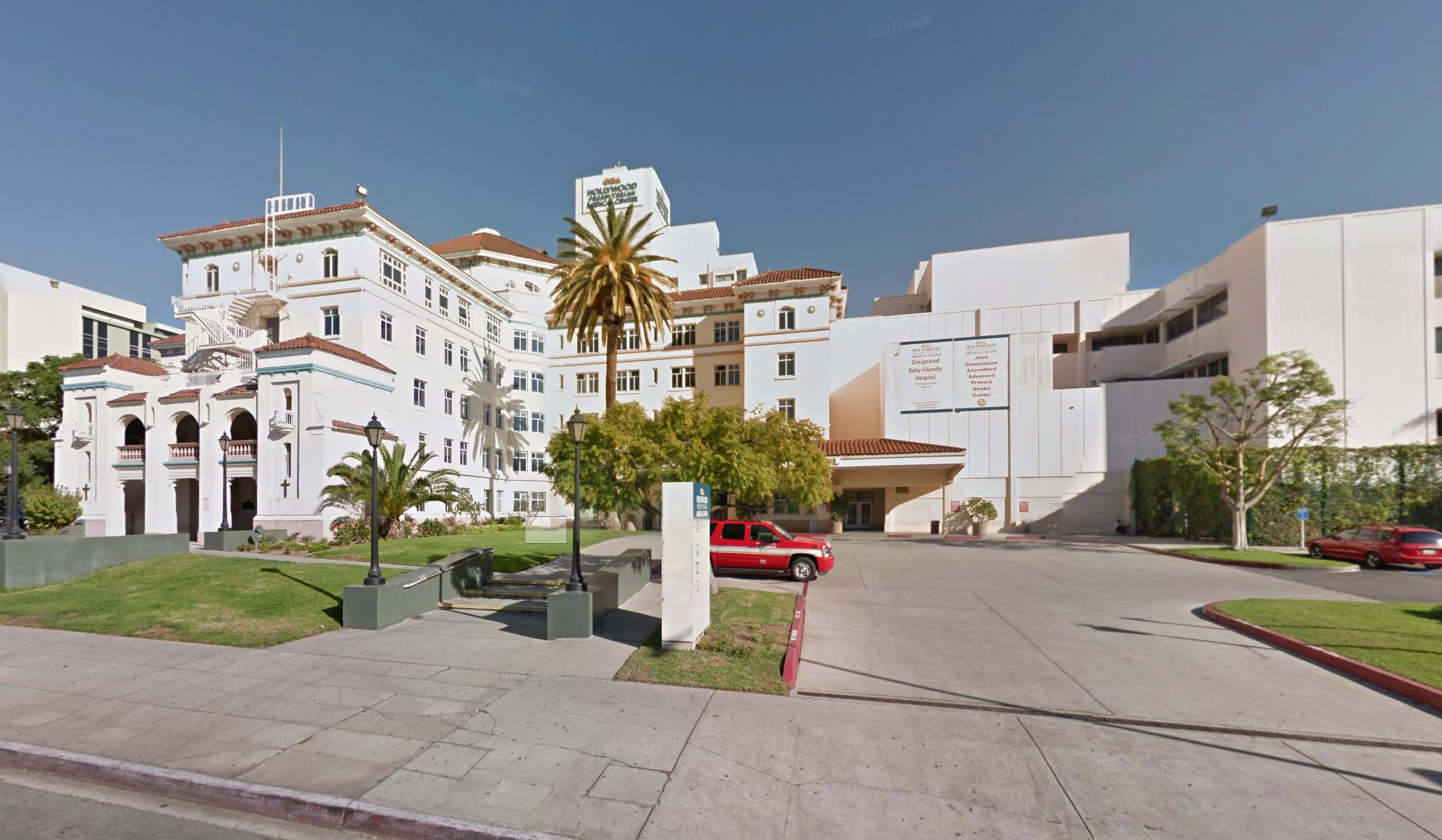 Hollywood Presbyterian Medical Center.