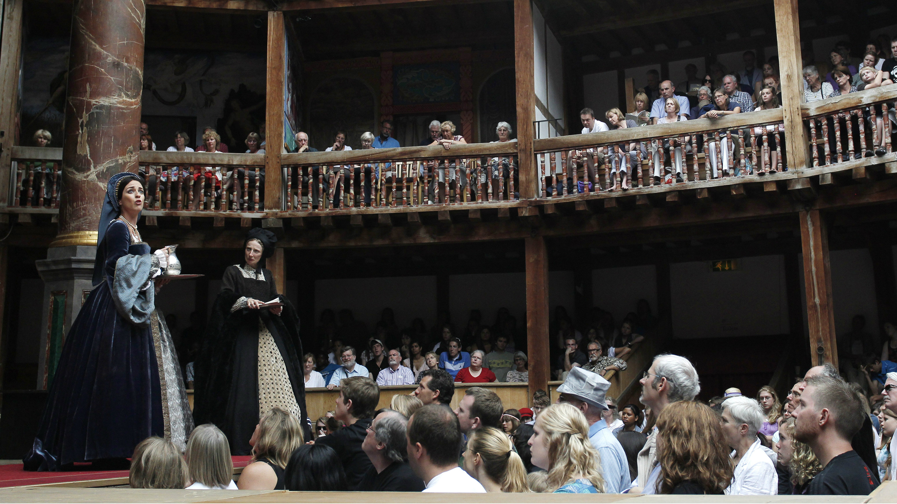 shakespeare play at theater