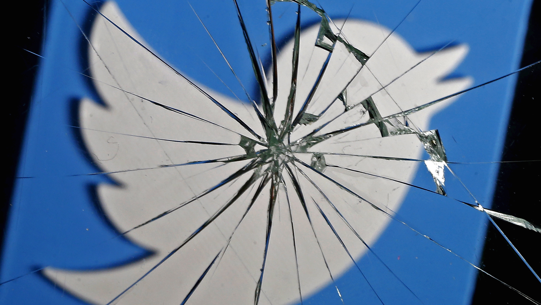 Twitter shattered