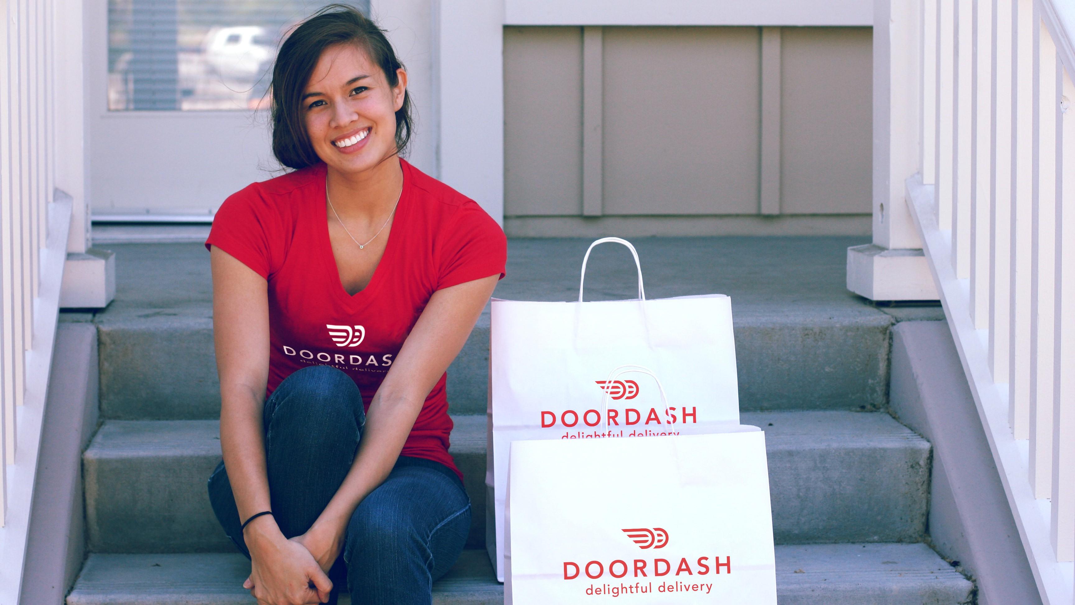 DoorDash is not this happy.