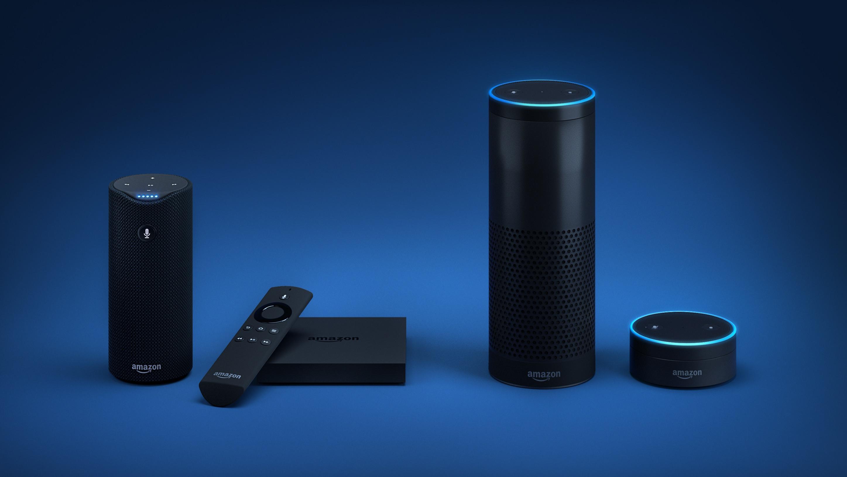 Amazon Echo devices.