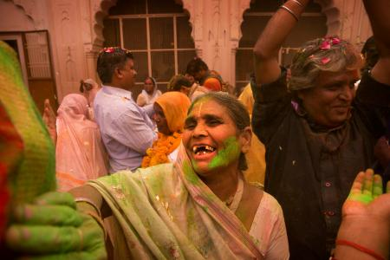 India-Widow-Holi