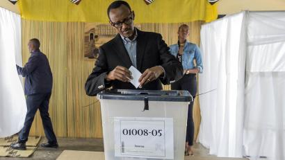 President of Rwanda, Paul Kagame faces reelection in August 2017.