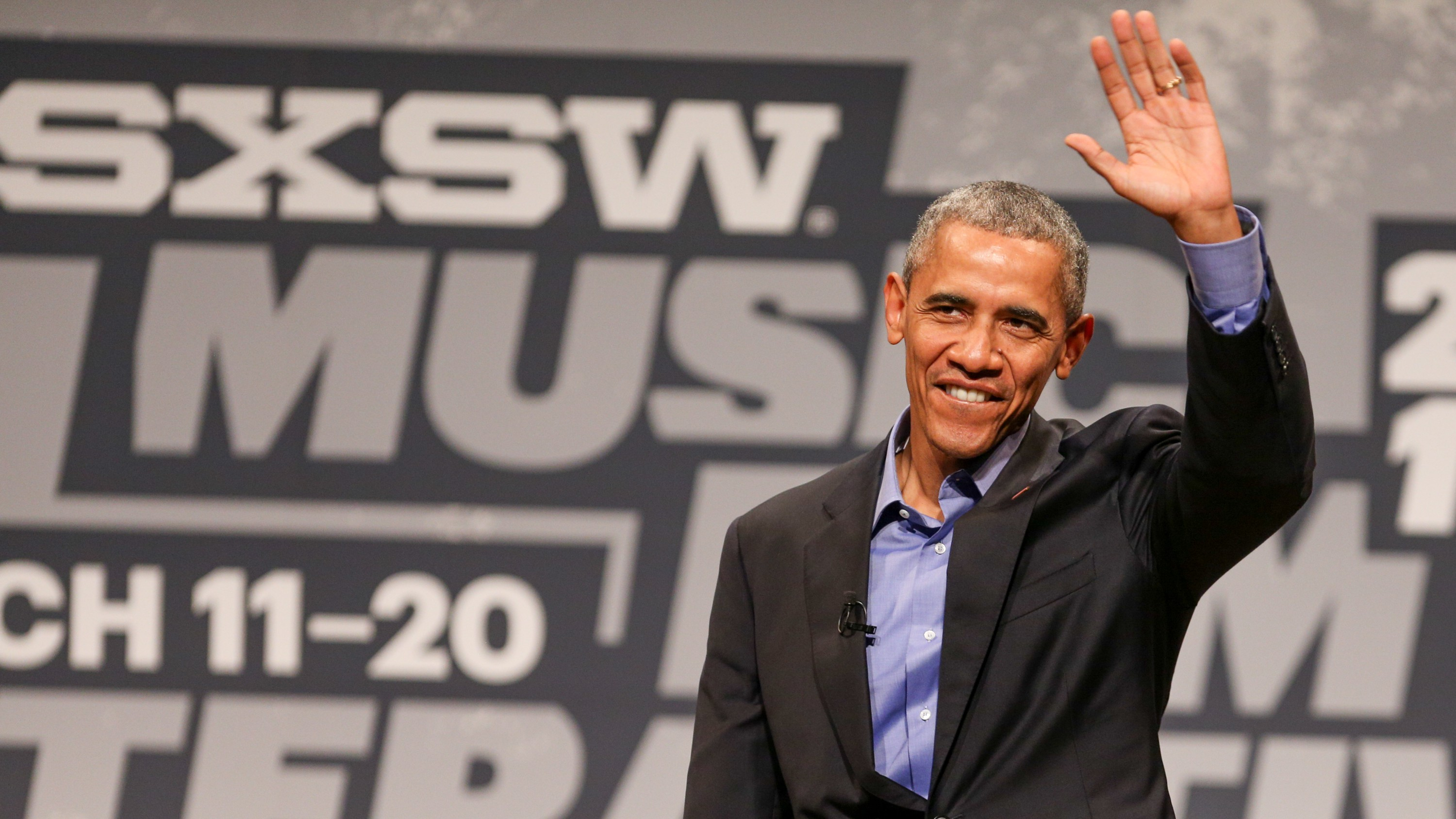 President Barack Obama speaks during the opening day of South By Southwest at the Long Center for the Performing Arts on Friday, March 11, 2016, in Austin, TX.