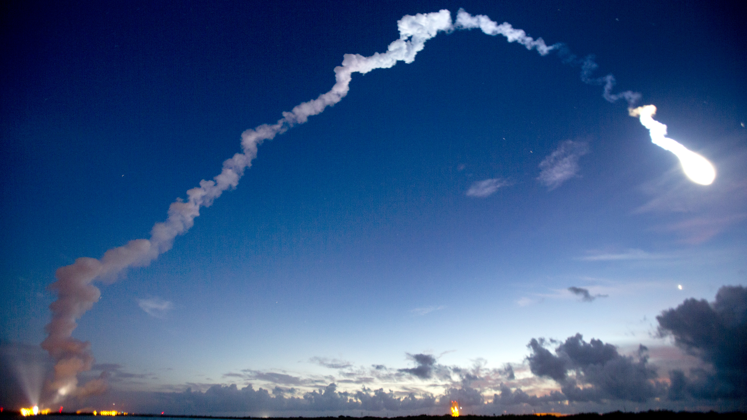 A United Launch Alliance Atlas V rocket lifts off from Complex 41 at the Cape Canaveral Air Force Station, Wednesday, Sept. 2, 2015, in Cape Canaveral, Fla. The rocket will deploy the fourth Mobile User Objective System (MUOS) satellite for the U.S. Navy to significantly improve ground communications for U.S. forces on the move.