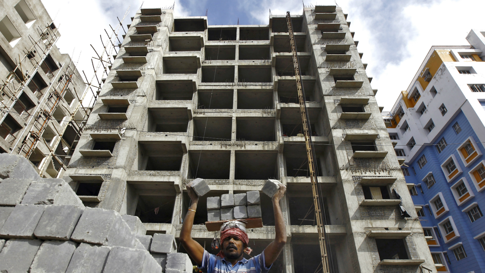 India-construction-residential