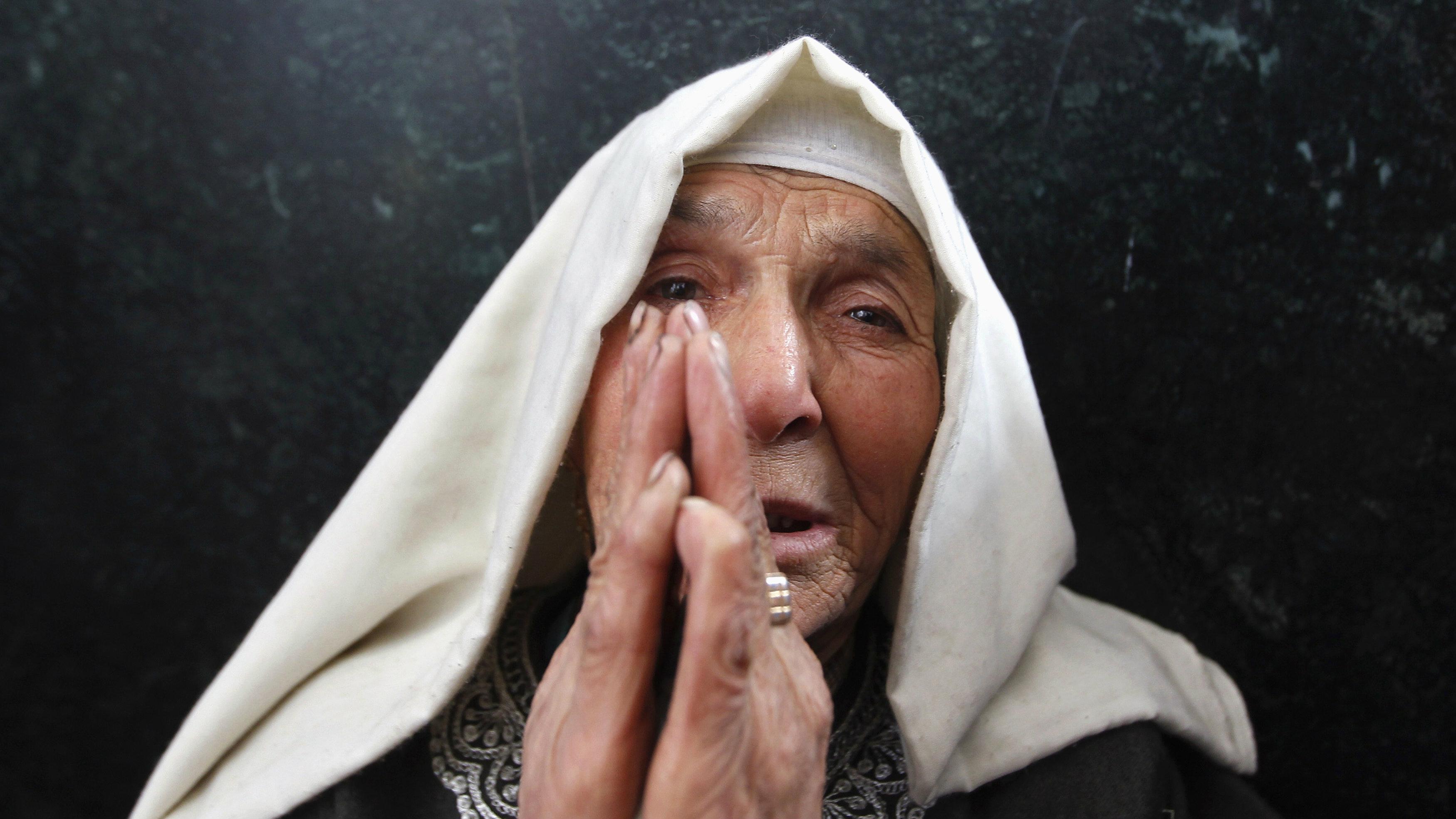 kashmiri muslim woman