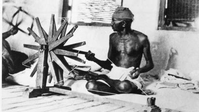 India is trying revive khadi, the yarn Gandhi used to weave