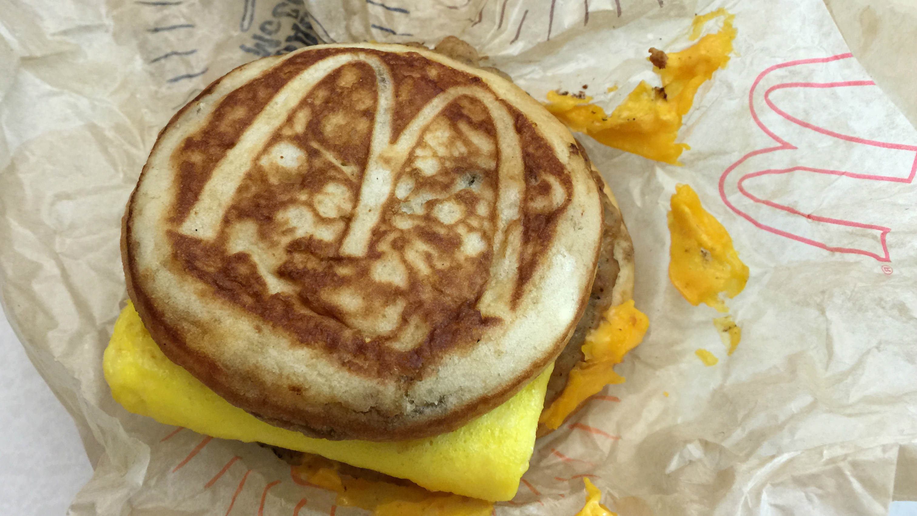People are ordering Egg McMuffins as side items.
