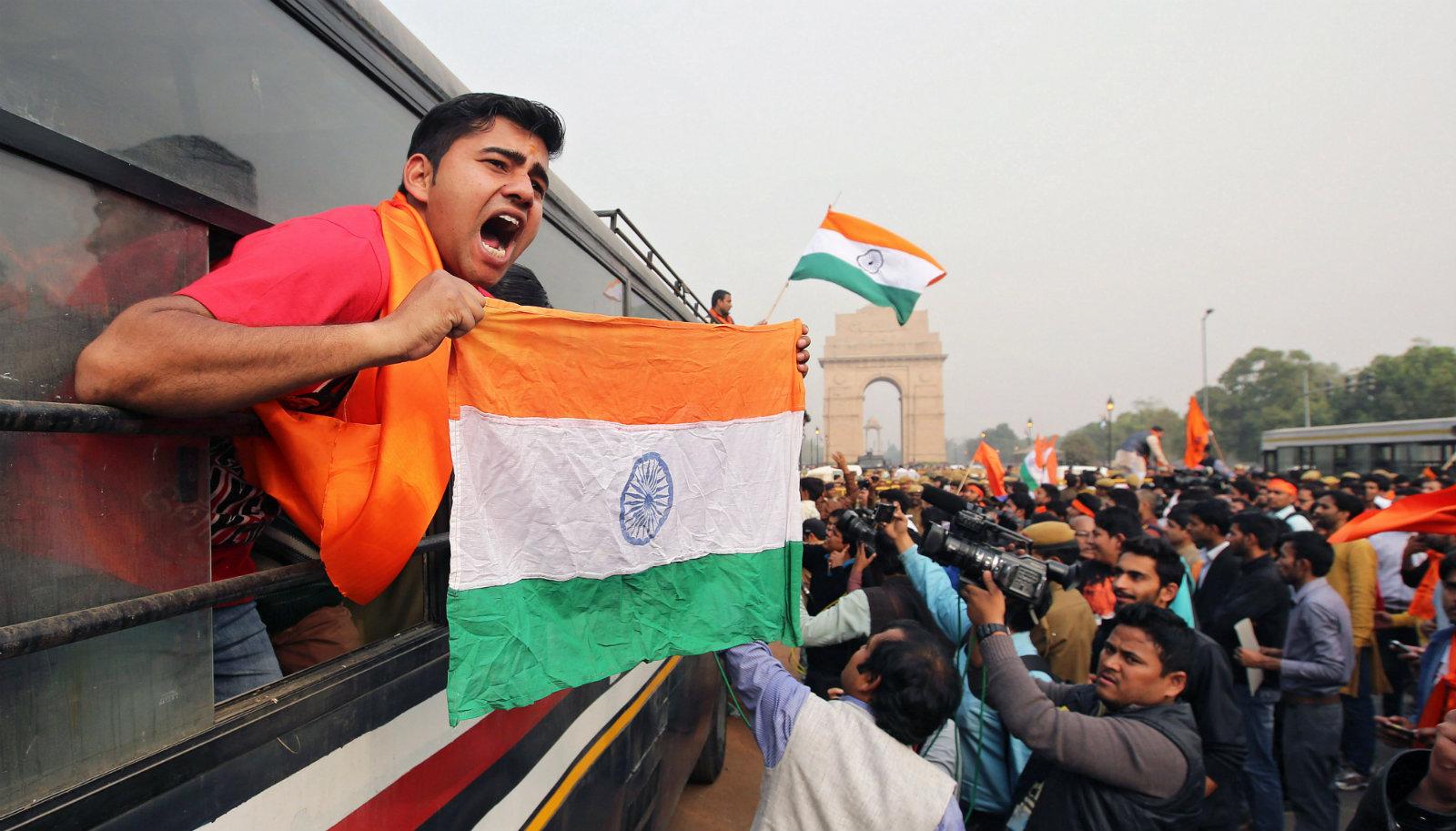 India-nationalism-JNU-protest