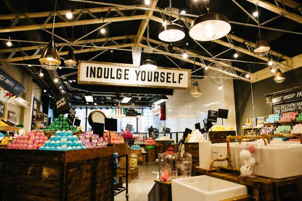 Lush sells bath bombs and cosmetics. It also gives nearly £6 million ...
