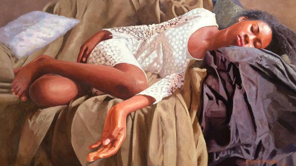 How a Nigerian hyper-realist painter became a social media phenomenon