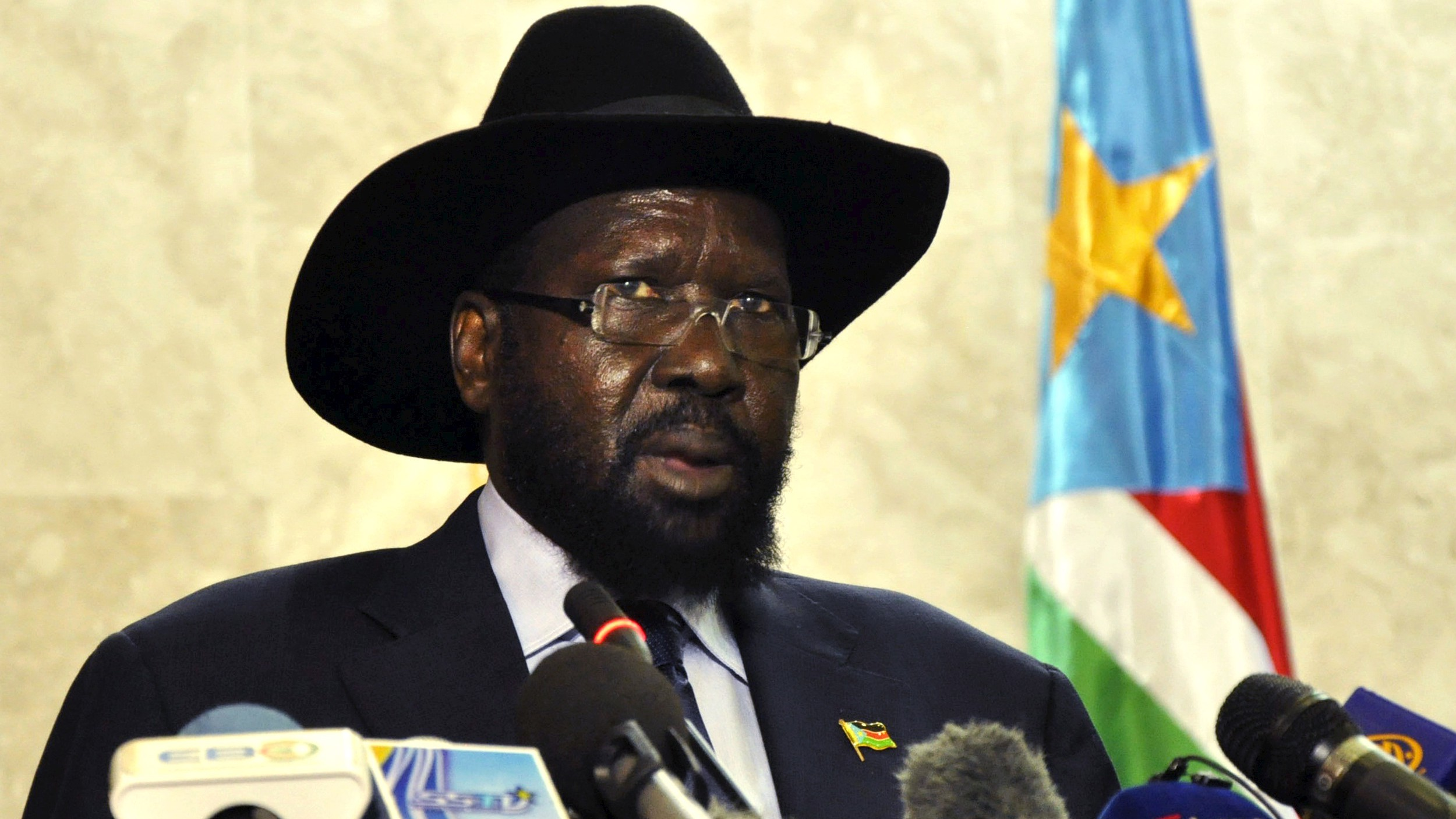 South Sudan's President Kiir addresses the nation at the South Sudan National Parliament in Juba