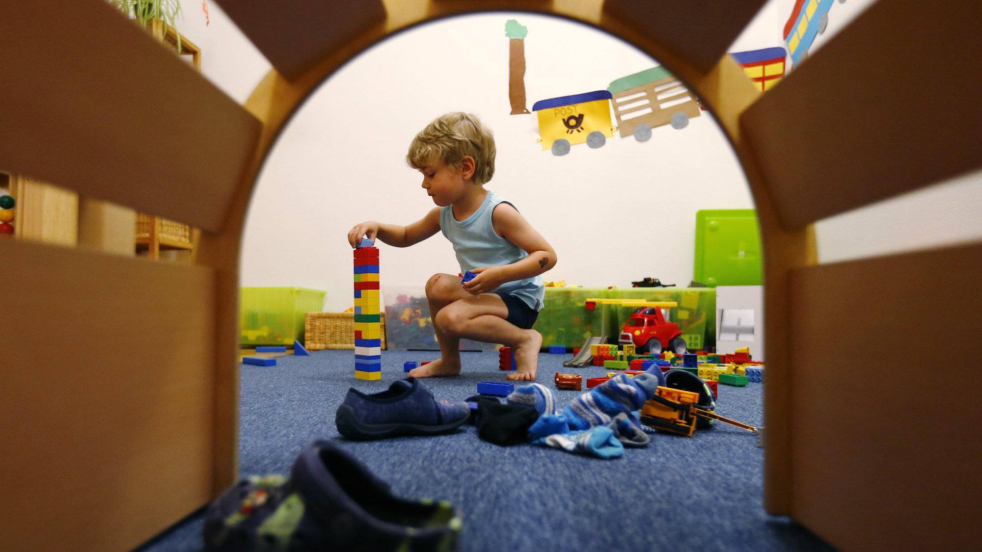 Learning And Teaching Lego Nursery School Play