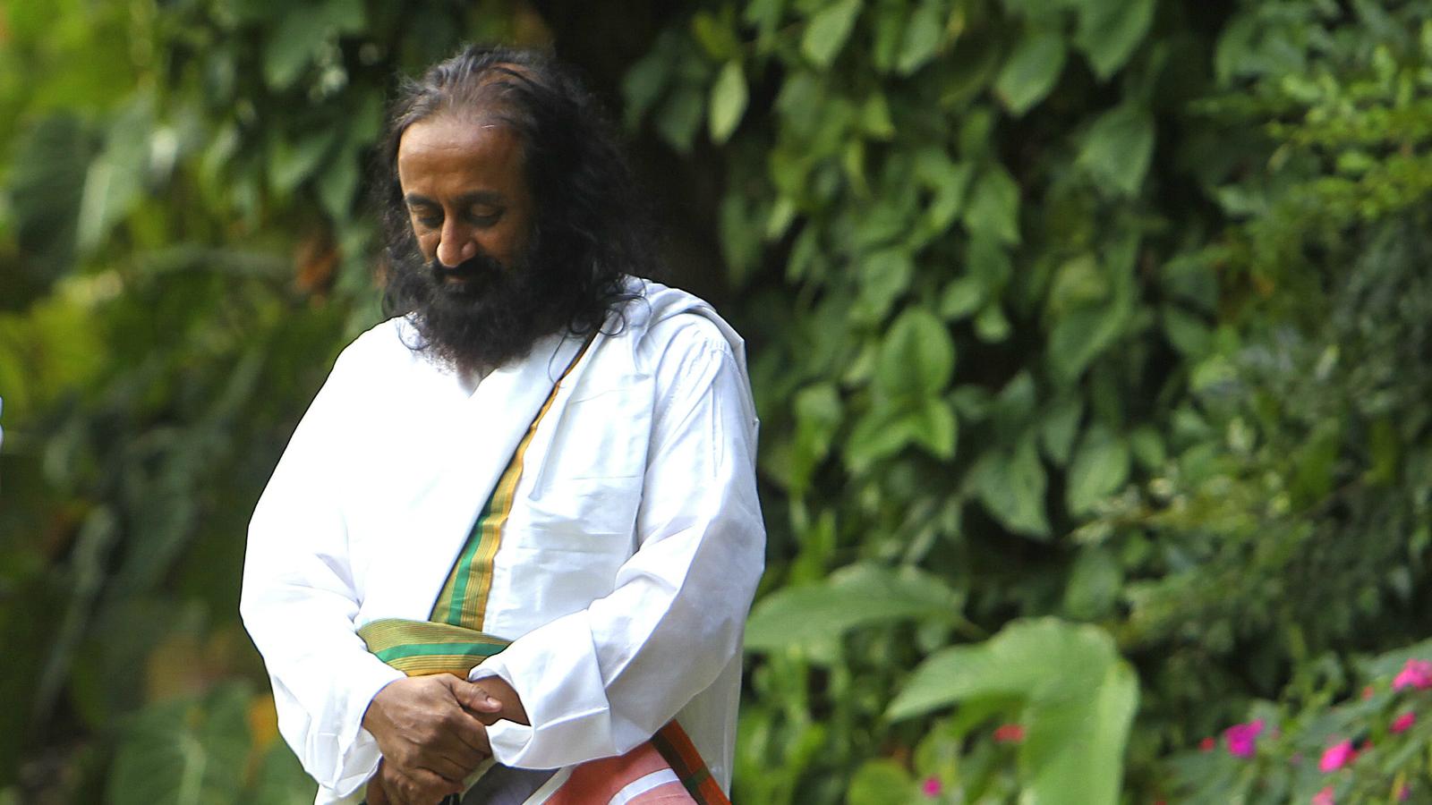 India-Sri Sri Ravi Shankar-Yamuna-Delhi