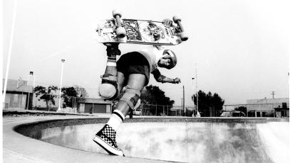 Skate legend Steve Caballero in his Vans