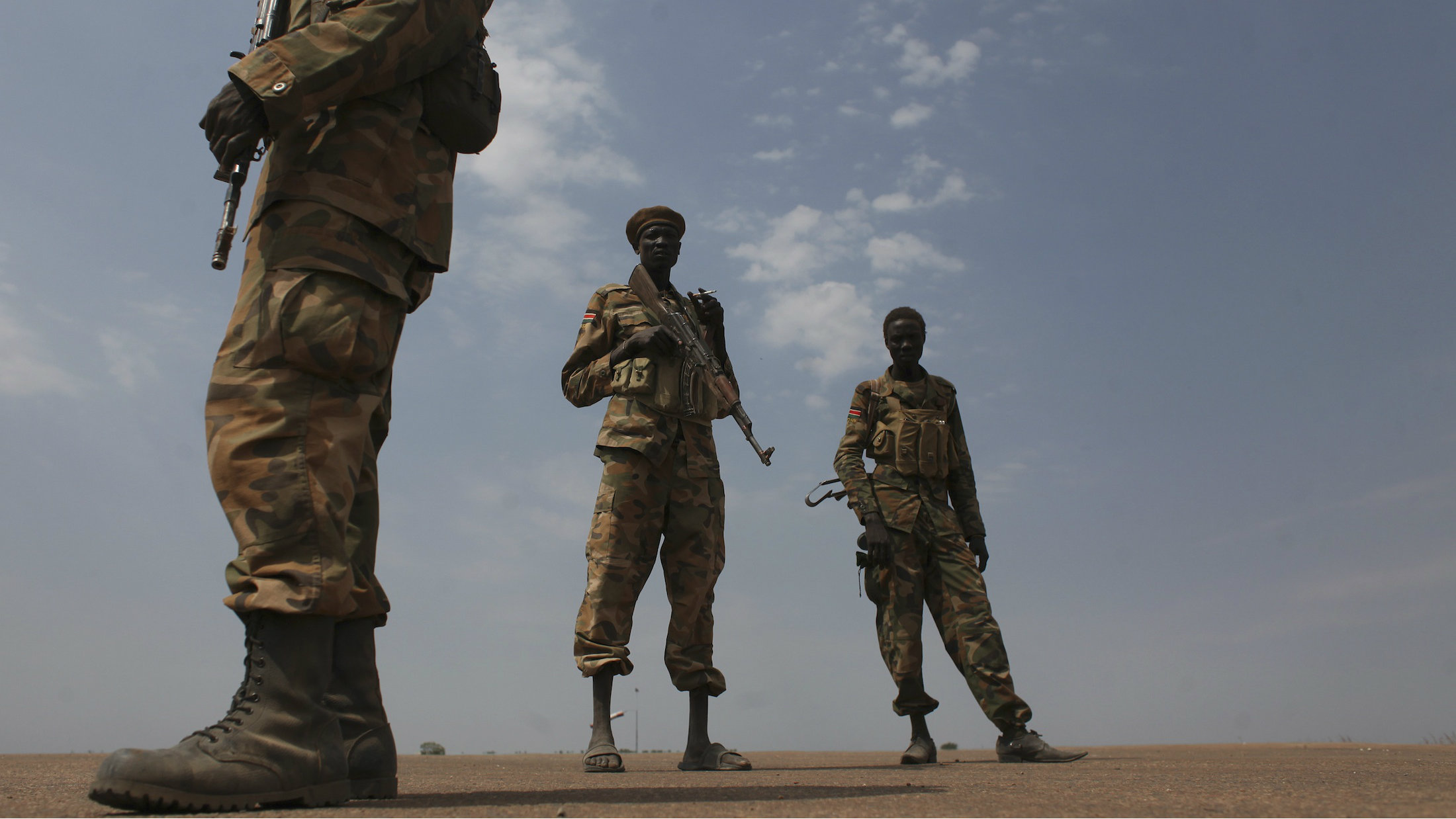 Sudan People's Liberation Army in Malakal, South Sudan