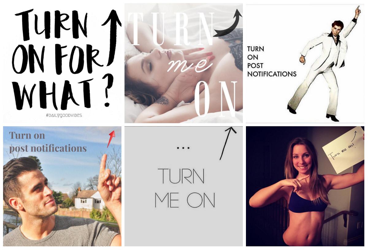 Instagram, algorithm, #turnmeon, notifications