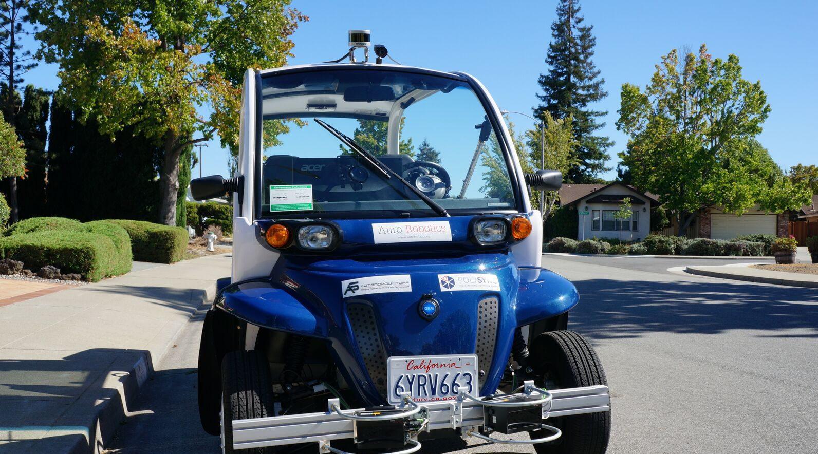 Auro Self Driving Car