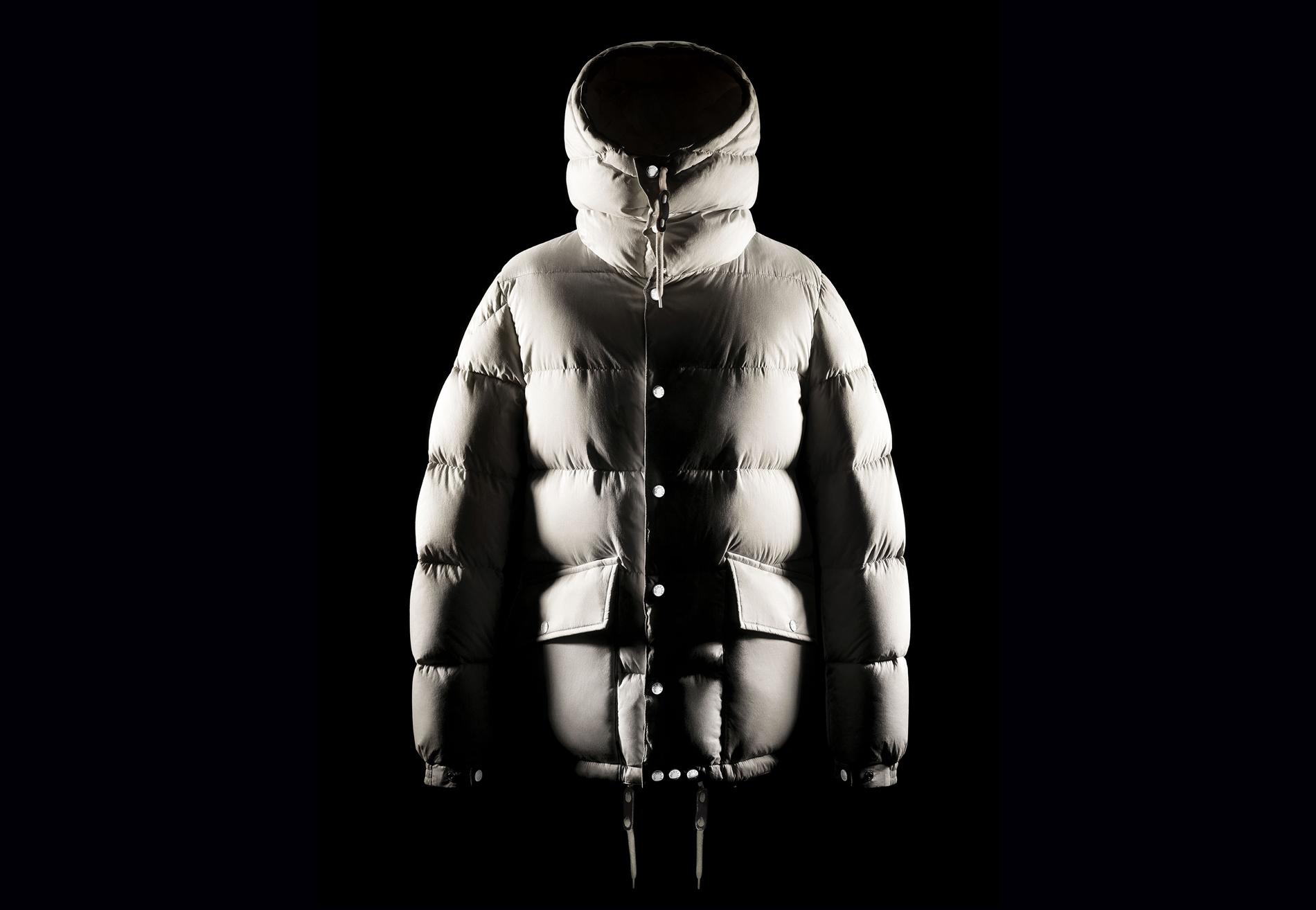 A Moncler jacket