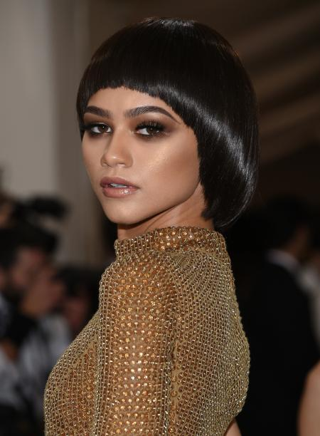 """Zendaya arrives at The Metropolitan Museum of Art Costume Institute Benefit Gala, celebrating the opening of """"Manus x Machina: Fashion in an Age of Technology"""" on Monday, May 2, 2016, in New York. (Photo by Evan Agostini/Invision/AP)"""