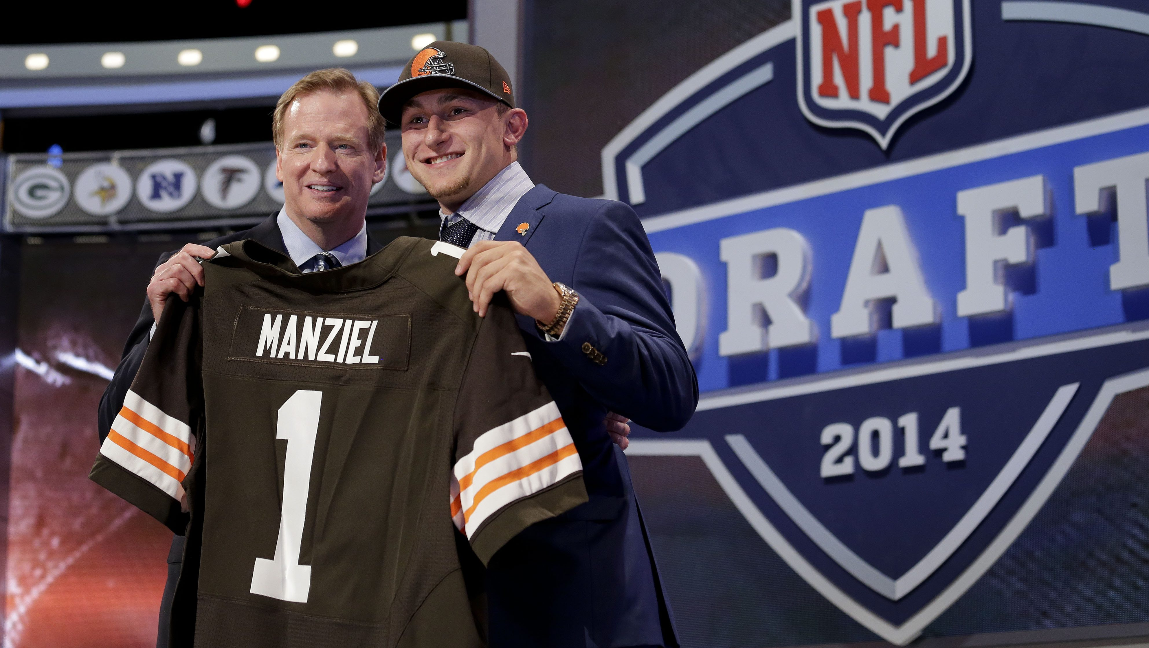 NFL Draft Football Johnny Manziel 2014