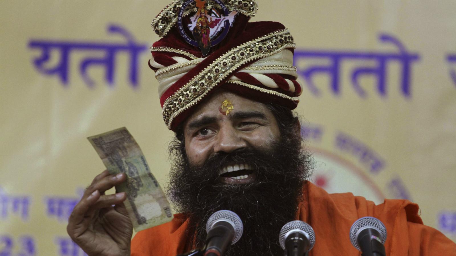 Baba Ramdev-Patanjali-India