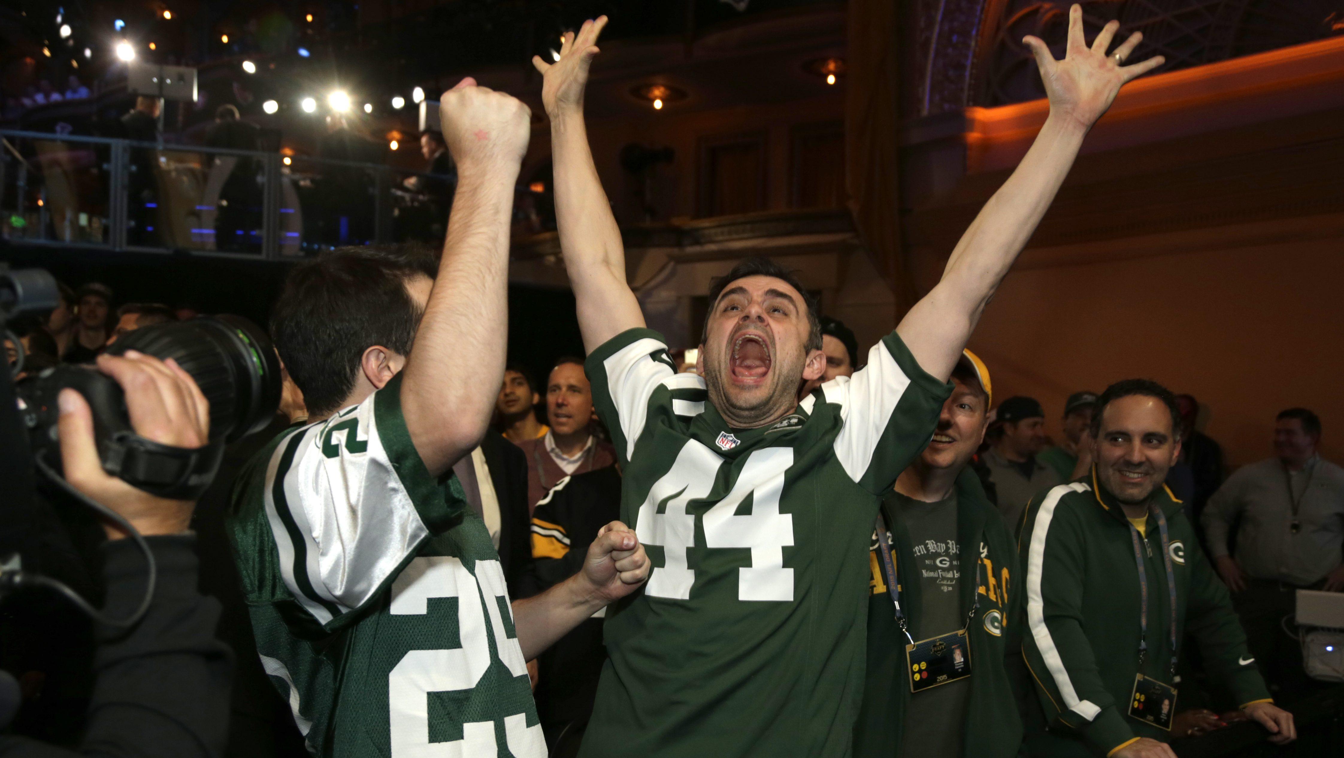 Jets fans 2015 NFL Draft