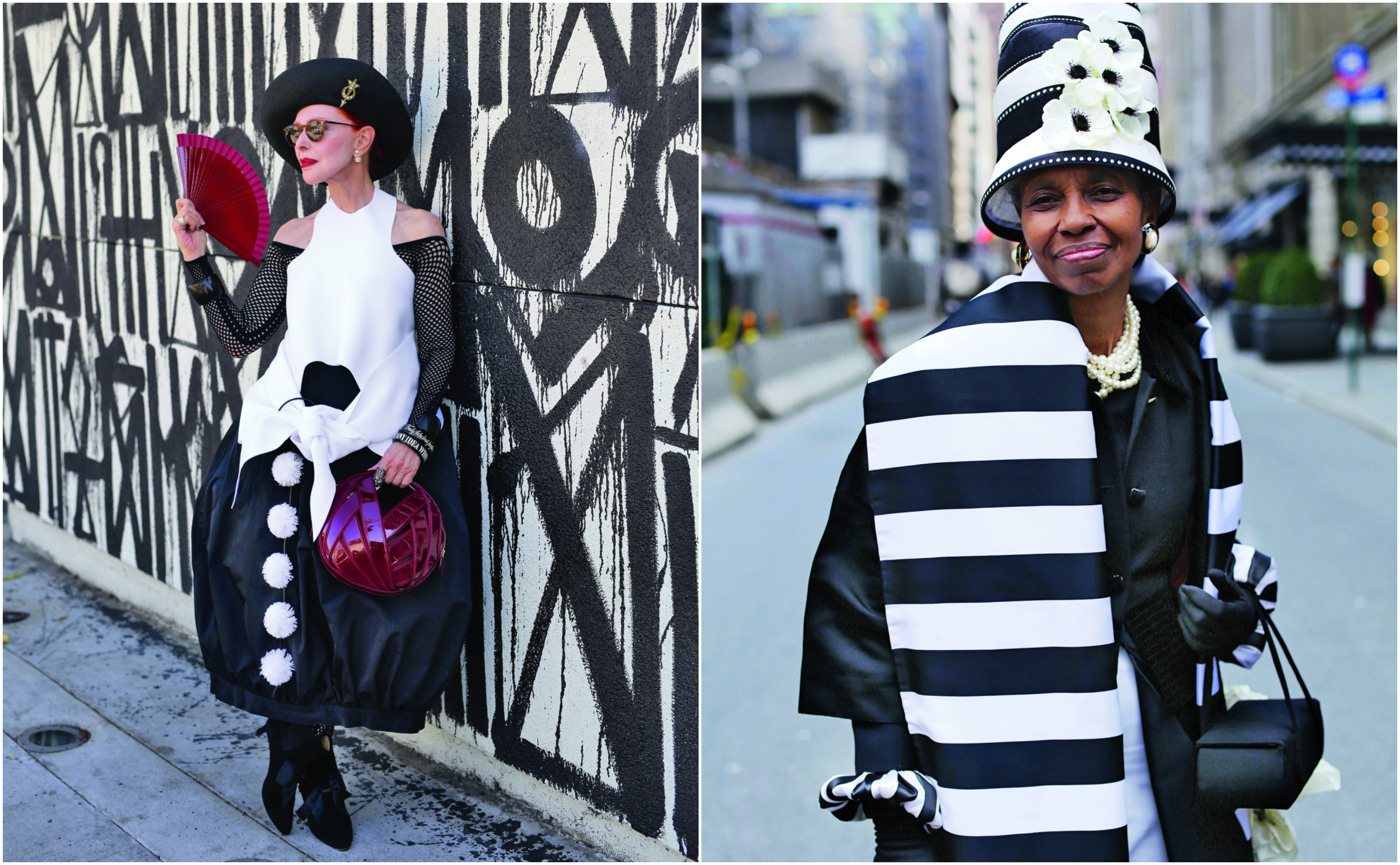 Images from Advanced Style, by Ari Seth Cohen