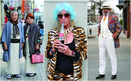 Images from Advanced Style: Older & Wiser, by Ari Seth Cohen